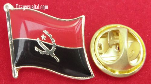 Angola Country Flag Lapel Hat Cap Tie Pin Badge / Brooch ya Ngola Republic New